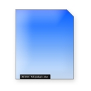 Full gradual classic BLUE graduated color filter