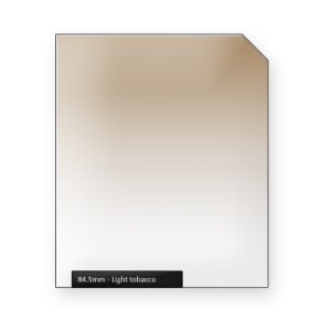 Light TOBACCO graduated color filter
