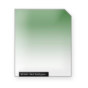 Medium forest GREEN graduated color filter