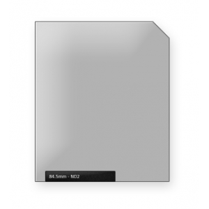 ND2 (0.3) FULL Non-graduated Neutral Density Filter, Square - P Type, Classic line