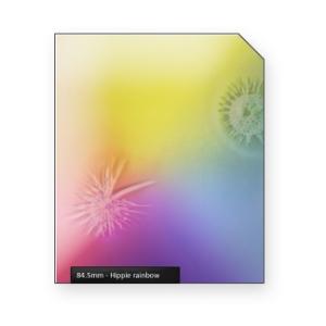 Hippie rainbow light crackles