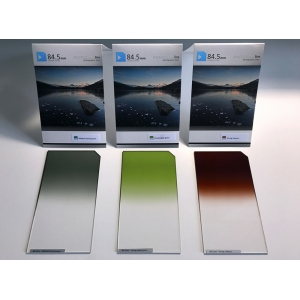 Forest Set - Professional Set - Graduated color filters, Square - P type, Professional line