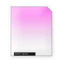 Light PINK graduated color filter