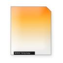 Strong ORANGE graduated color filter
