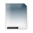 Medium denim GREY graduated color filter