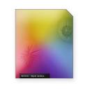 Hippie rainbow crackles