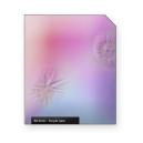 Purple haze light crackles